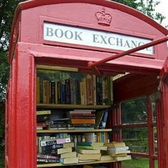 WHAT ABOUT THIS FOR MEETING NEW PEOPLE? A book exchange!  If love this in my front yard!!