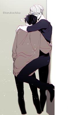 <33I can totally imagine Yuri blushing -////-