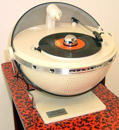 Tourne Disques 'Sphère' - Sanyo - Années 70