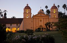 21 California Missions | the santa barbara mission is one of 21 california missions
