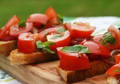 Global Kitchen: Easy Bruschetta Recipe from Italy