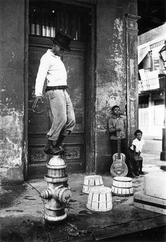 New Orleans, 1950's.