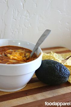 Zupa's Copycat Crockpot Chicken Enchilada Soup: Classic Style | Food Apparel