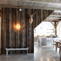 1000 images about rustic walls on pinterest rustic - Rustic wall covering ideas ...