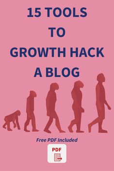 15 Powerful Tools To Growth Hack A Blog: Grow Your Blog Faster Social Media Analytics, Social Media Marketing, Online Marketing, Marketing Ideas, Growth Hacking, Marketing Automation, Startup, Competitor Analysis, Along The Way