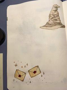 My harry potter november spread   Bullet Journal Amino