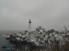 Portland Headlight... so glad to be able to go here anytime I want to!