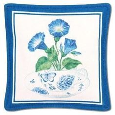 Gift Boxed Set of 4 Morning Glory Tea Cup Spiced Mug and Tea Cup Mats