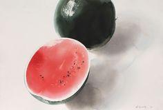 A/057- 2014, akvarell, 38x56 cm