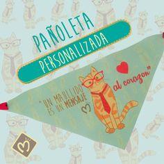 Encuentra en Migas las pañoletas personalizadas más lindas para tu mascota. Escríbenos al 314 855 2090 o visita www.migastienda.co #PañoletasPersonalizadas #Mascotas #Migas