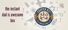 """#fathersday Gift Idea: """"Cooper & Kid is for the modern Dad who wants to do something COOL with their kids."""""""