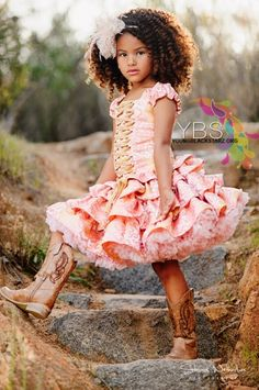 The girls would flip for a dress like this!! My mommy mission :)