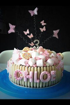 White Chocolate Marshmallow Sweetie Cake