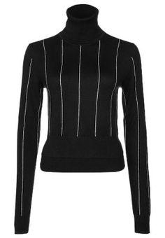 Sweter - czarny