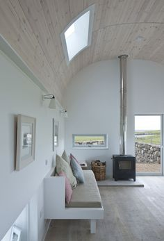 House No.7 cottage and extensions on the Isle of Tiree by Denizen Works