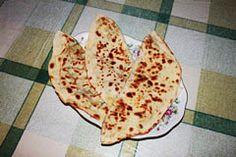 Gözleme-a food typical in rural areas, made of lavash bread or phyllo dough folded around a variety of fillings such as spinach, cheese and parsley, minced meat or potatoes and cooked on a large griddle.