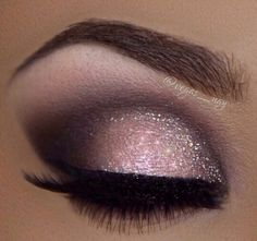 I love this pink smoky eye make up! It's gorgeous!
