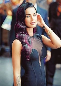 Megan Fox is one of my girl crushes Girl Crushes, Updo, Megan Denise, Old Hollywood Hair, Hollywood Waves, Hair Rainbow, Celebrity Beauty, Looks Style, Woman Crush