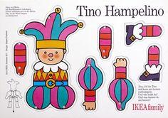 Hampelmann / Illustration und Produktion / IKEA family, 1992