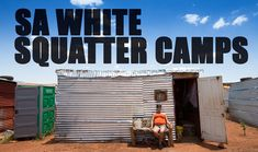 UNION visited some of South Africa's poor working class Afrikaners living in the countries many illegal White Squatter Camps. Purchase UNION Magazine here: w. Union Magazine, Country Living, Squats, South Africa, African, Neon Signs, Camping, Karma, Outdoor Decor