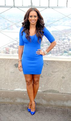 Mel B visiting at the Empire State Building in New York City - July 25, 2013 - Photo: Runway Manhattan/ZUMA Press