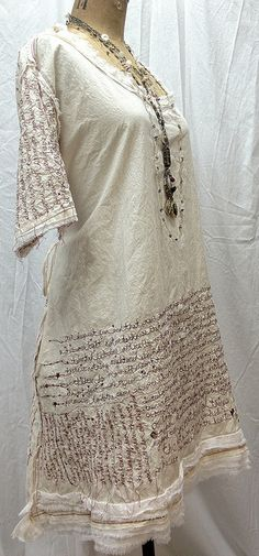red thread poetry dress by ruth rae
