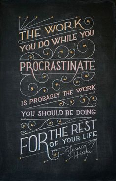 Inspiring Quotes Beautifully Illustrated on the Same Chalkboard Each Week