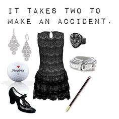 """Jordan Baker - The Great Gatsby"" by chloemack14 on Polyvore"
