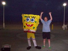 Steve & SpongeBob in OC 2009