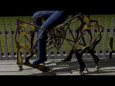 walking cycle theo jansen mechanism (+playlist)