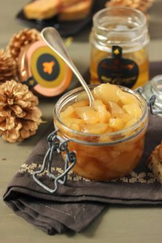 Dans la cuisine de Sophie: {noël 2013} Chutney de poires au miel & cognac pour votre foie gras et un joli cadeau à vous offrir