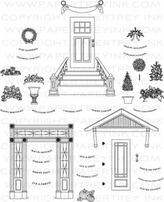 Door to Door Stamp Set