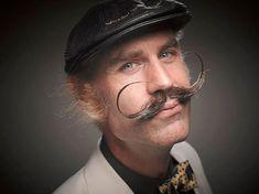 Increíbles retratos de la Competencia Mundial de Barbas y Bigotes