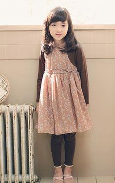 En esta ocasión moda infantil koreana de Amber Pure