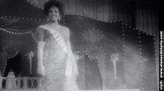 Miss Evelyn Miot for Miss Haiti in 1962 at the Miss Universe Pageant.