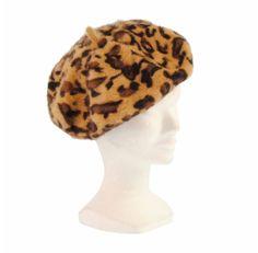 Boina en angora manchas leopardo - Paula Alonso - Tienda online Look Otoño bdb6df92cf7