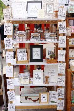 Craft show display ideas - Dear Handmade Life