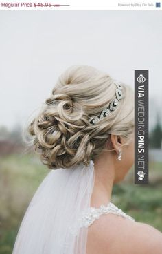 So awesome - Wedding Hair With Veil ON SALE Wedding headpiece headband ELSIE Rhinestone by BrassLotus, $41.36 | CHECK OUT MORE AWESOME TEMPLATES FOR GREAT Wedding Hair With Veil HERE AT WEDDINGPINS.NET | #weddinghairwithveil #weddingveil #weddinghairstyles #weddinghair #hair #stylesforlonghair #hairstyles #hair #boda #weddings #weddinginvitations #vows #tradition #nontraditional #events #forweddings #iloveweddings #romance #beauty #planners #fashion #weddingphotos #weddingpic Hairdo Wedding, Wedding Hairstyles With Veil, Wedding Hair And Makeup, Wedding Veil, Hair Makeup, Mother Of The Bride, Headpiece, Wedding Planner, Wedding Photos