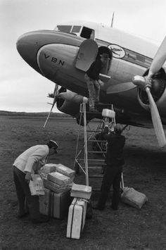 Varig DC-3, Porto Alegre, 1966 © Bruno Barbey/Magnum Photos