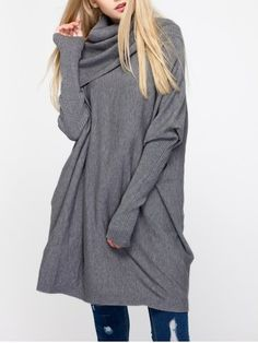 GET $50 NOW   Join RoseGal: Get YOUR $50 NOW!http://www.rosegal.com/sweaters/chic-women-s-cowl-neck-pure-651683.html?seid=6579458rg651683