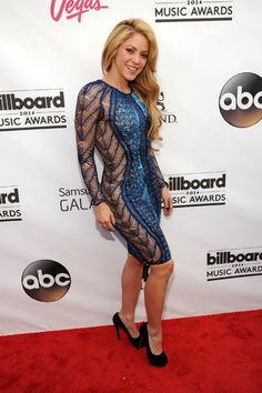 Shakira at the Billboard Music Awards