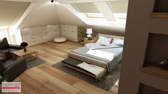 Outdoor Furniture, Outdoor Decor, Bed, Home Decor, Attic Apartment, Decoration Home, Stream Bed, Room Decor, Beds