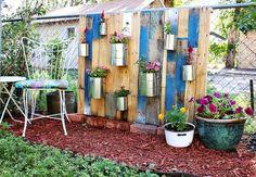 Como hacer un bonito jardín con palets | Muebles de Palets