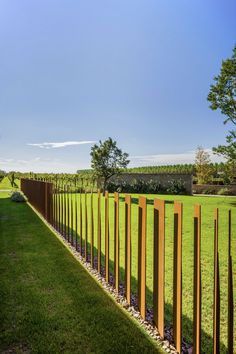 Easy and Cheap Backyard Fence Design Ideas Part 30 ; backyard fence ideas for dogs; Fence Landscaping, Pool Fence, Backyard Fences, Railing Design, Fence Design, Landscape Architecture, Landscape Design, Steel Fence Posts, Fence Options