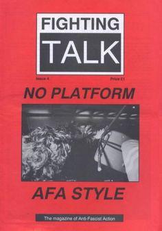 fighting talk magazine – anti fascist action # 1 –21