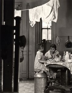 Aaron Siskind, 'Harlem Document (Woman and child eating at kitchen table),' 1935, Robert Mann Gallery