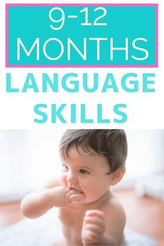 May 18, 2020 - Do you know what communication development 9-12 months looks like? Learn what skills to look for and simple ways to encourage development through play.