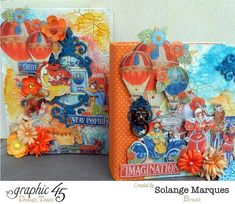 Planner and Box of Ideas by Solange Marques with G45 World Fair 1