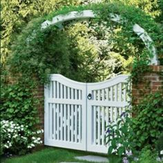 Would like to do like this entrance garden gate of my own.