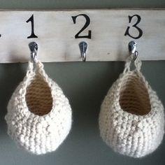 Chunky Crochet Baskets - Free Pattern